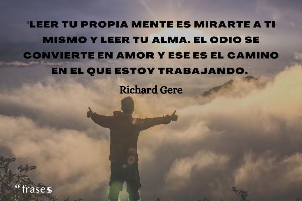 Frases de Richard Gere - Ya me has dado mi regalo: alegría, tristeza, dolor, pasión, ilusión, amor...
