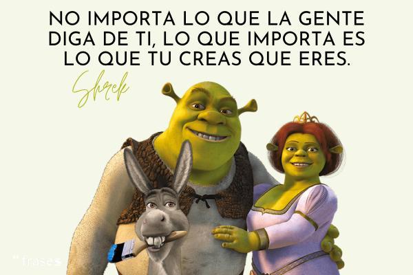 Frases de Shrek