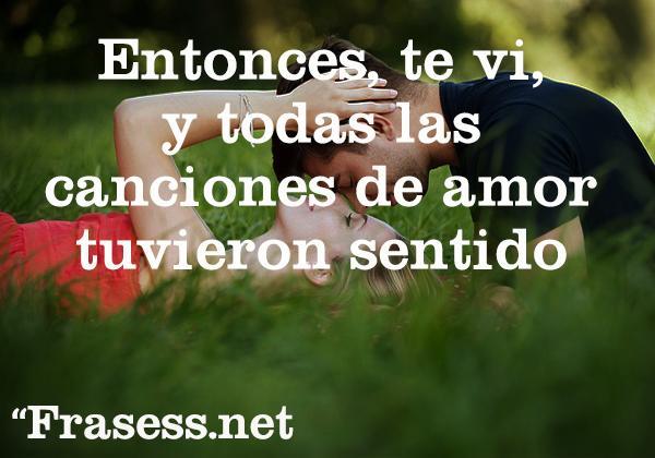 Frases De Amor A Primera Vista Muy Bonitas
