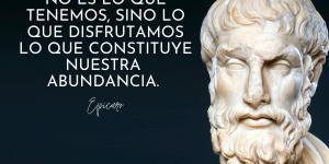 Frases de Epicuro