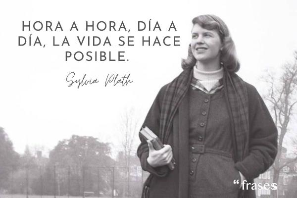 Frases de Sylvia Plath