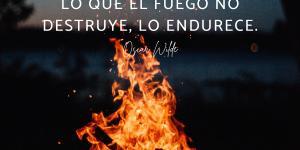 Frases sobre el fuego