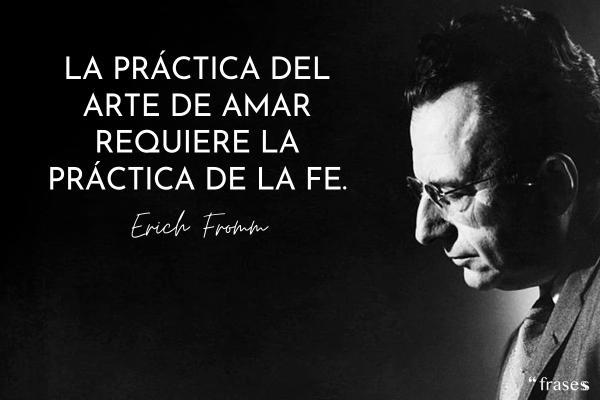 80 Frases De Erich Fromm Sobre El Amor Y El Psicoanálisis