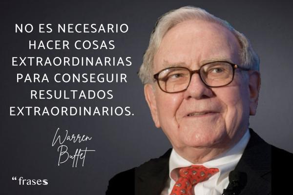 Frases de Warren Buffet