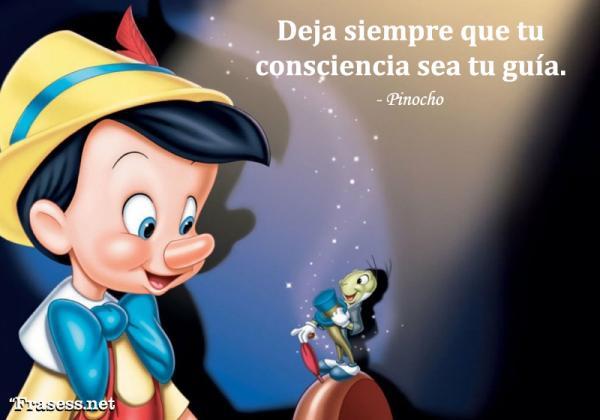 Frases de cuentos - Siempre deja que tu conciencia sea tu guía.