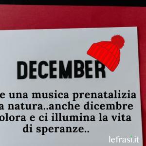 Frasi su dicembre