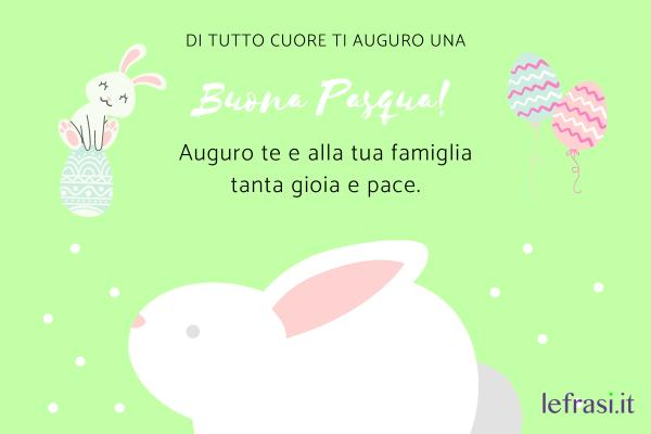 """Auguri di Buona Pasqua - Forse ti sembrerò priva di una qualsiasi forma di originalità ma tu ben sai che non amo fronzoli. Le parole più semplici sono le più belle: """"Tanti auguri di Buona Pasqua!"""""""