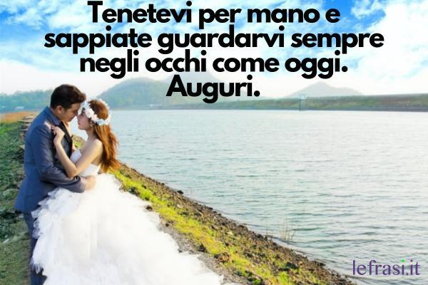 Auguri Promessa di Matrimonio - Tenetevi per mano e sappiate guardarvi sempre negli occhi come oggi. Auguri.
