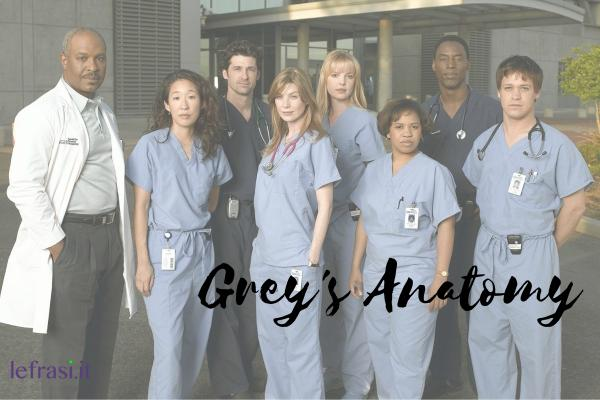 Frasi di Grey's Anatomy