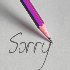 Frasi per chiedere Scusa