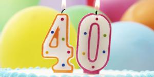 Auguri per i 40 anni - Frasi per il quarantesimo compleanno