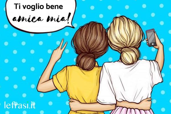 Le più belle frasi da dedicare alla migliore amica - L'amore non vede i difetti, l'amicizia li ama.